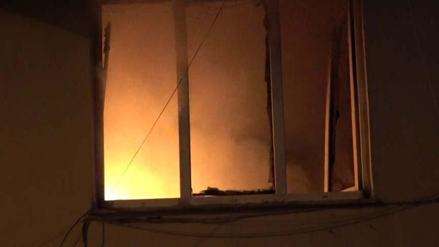 Bursa'da yangın: 3 kişi dumandan etkilendi!