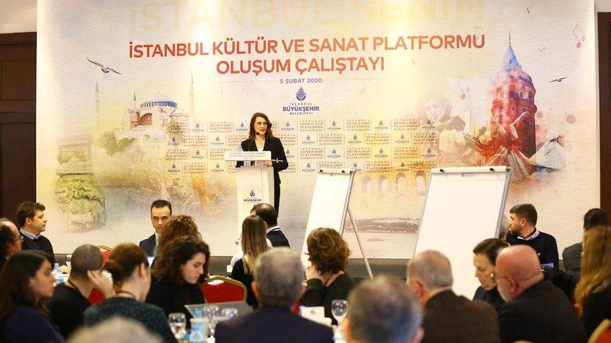 İstanbul Kültür Sanat Platformu kuruluyor