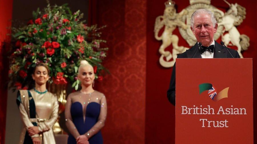 Prens Charles, Katy Perry'den bitkilerine şarkı söylemesini istemiş