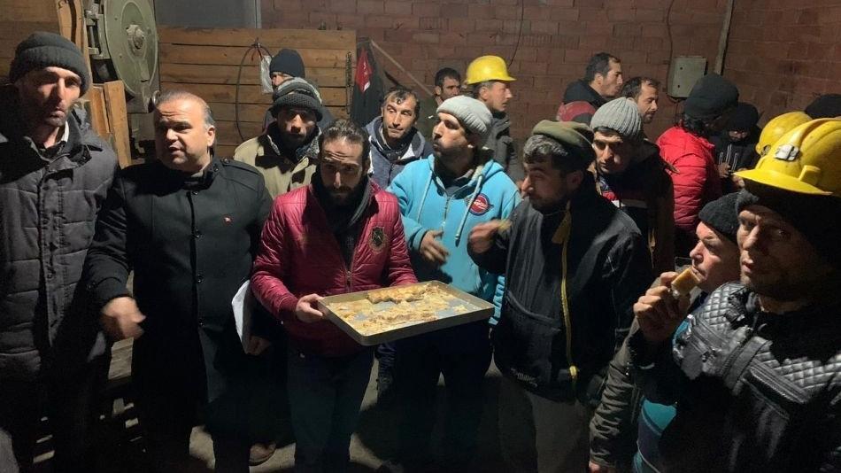 Karaman'daki madenci eyleminde mutlu son