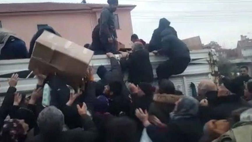 Elazığ'da tepki çeken yardım dağıtımında gözaltı!