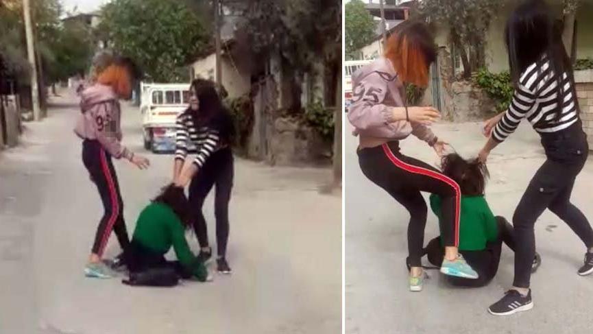 Terör estiren kızlar yine adli kontrolle serbest bırakıldı!