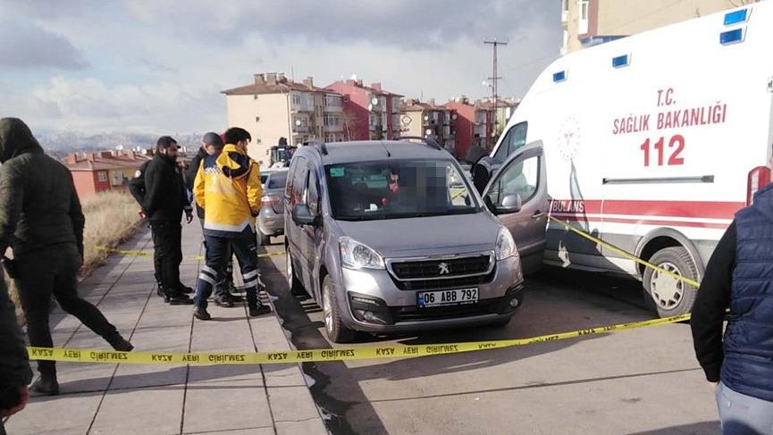 Ankara'da şüpheli ölüm!