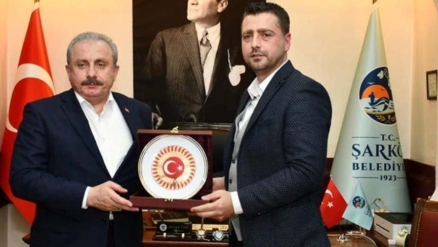 TBMM Başkanı'ndan CHP'li başkana ziyaret