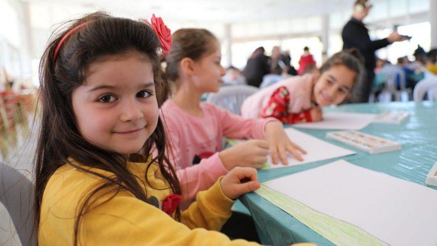 Deprem korkusu yaşayan çocuklara özel Çocuk Atölyesi