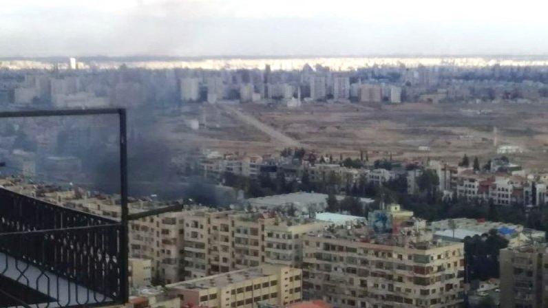 Şam'da büyük bir patlama meydana geldi!
