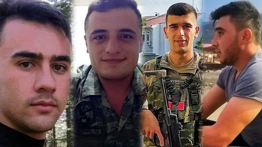 Suriye'deki hain saldırıda şehit düşen askerlerimizin isimleri belli oldu