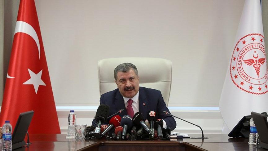 Sağlık Bakanı Fahrettin Koca'dan koronavirüsü açıklaması