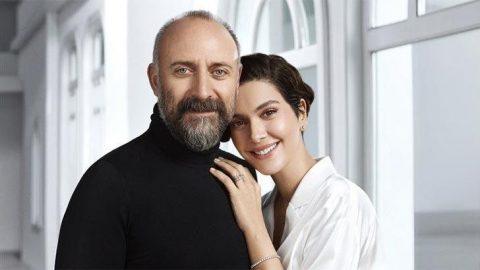 Halit Ergenç, eşi Bergüzar Korel'e methiyeler düzdü