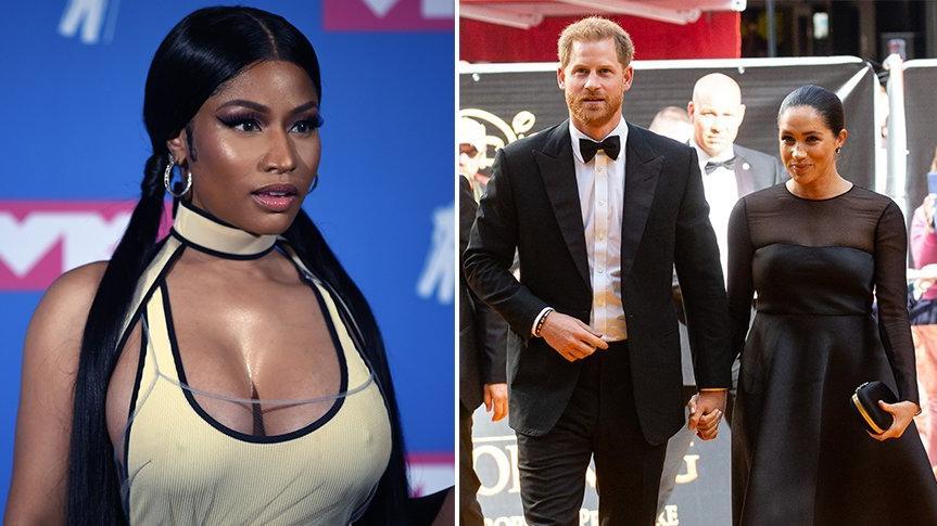 Nicki Minaj: Prens Harry gerçek bir erkek