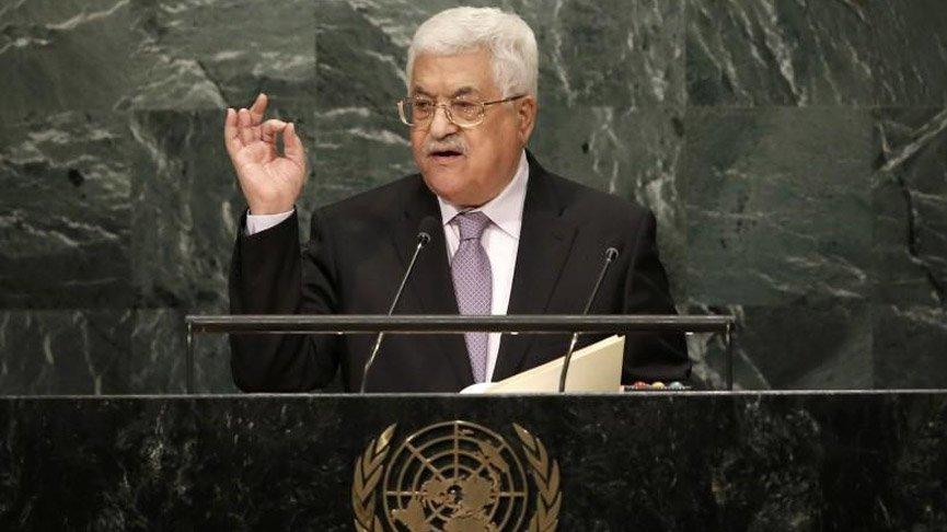 Mahmud Abbas: ABD'nin planı tasfiye etmeyi amaçlıyor!