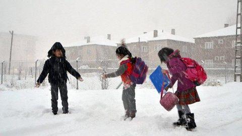 Yozgat'ta okullar tatil mi? Yozgat için kar tatili açıklaması geldi!