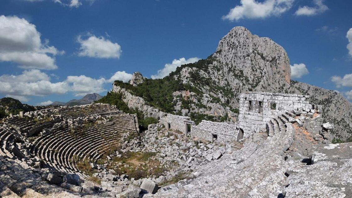Antik kentteki maden ocağına ÇED tepkisi
