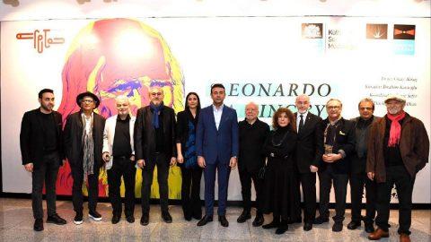 Usta sanatçılardan 'Leonardo da Vinci'ye Saygı'