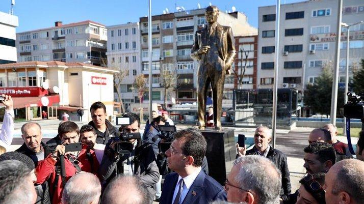 İmamoğlu'ndan 'Atatürk heykeli' talimatı