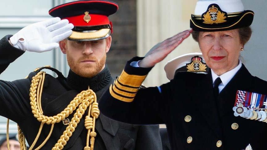 Prens Harry'nin halası Prenses Anne Prens yeni Kraliyet Deniz Piyadeleri Generali oldu