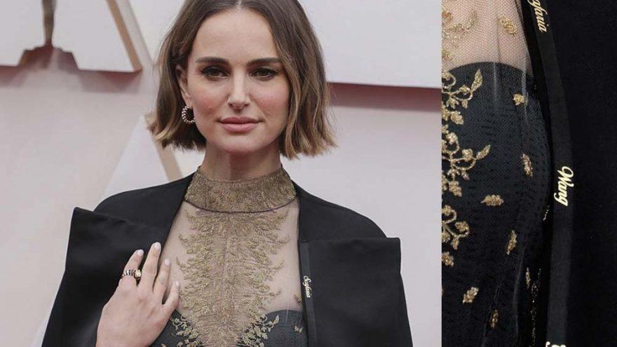 Natalie Portman'ın protesto amaçlı giydiği ceket eleştirildi 'İkiyüzlüsün' tepkisi çekti