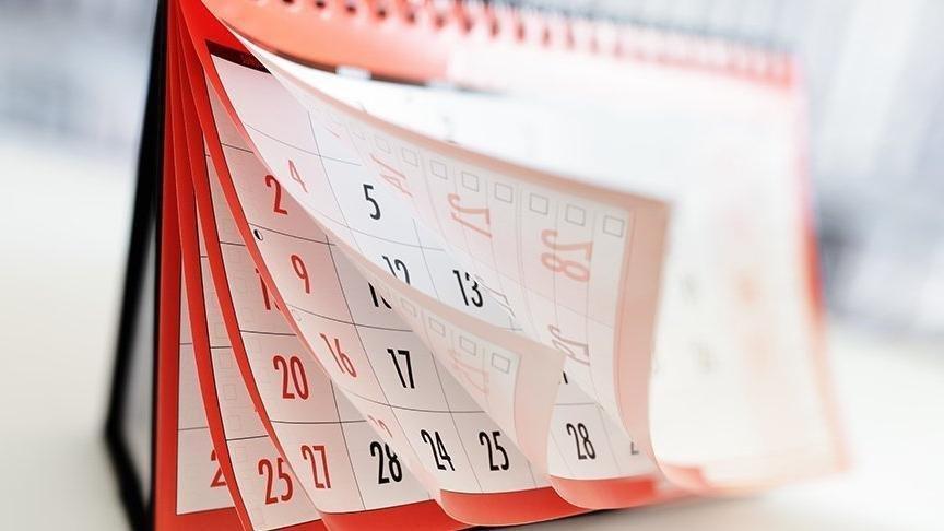 2020'de hangi günler resmi tatil? Resmi tatiller 2020 yılında hangi günlere denk geliyor?