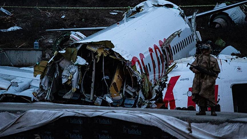 Kaza yapan uçağın pilotu ifade verdi!