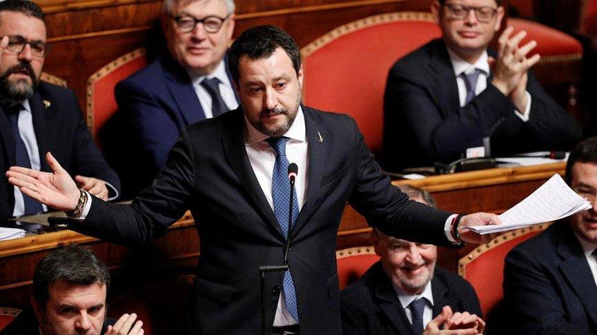 Aşırı sağcı partinin lideri Salvini: Türkiye gibi yapmalıyız!