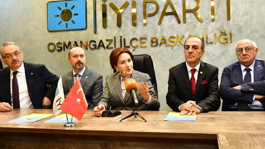 Akşener: Biz kılıç artığı değil öz be öz Türk'üz