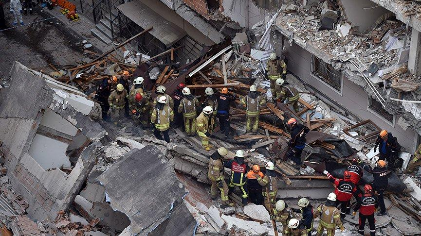 İstanbul Valiliği'nden Bahçelievler'de yıkılan binayla ilgili açıklama