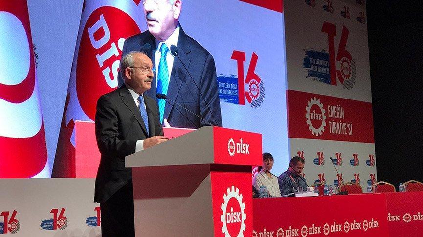 Kemal Kılıçdaroğlu: Korkunç bir işsizlikle karşı karşıyayız