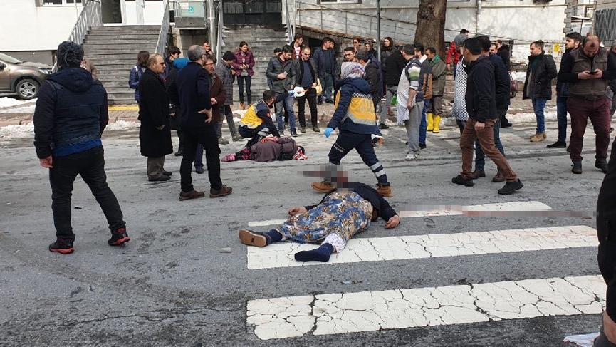 Feci kaza! Yaya geçidindeki anne öldü kızı yaralı