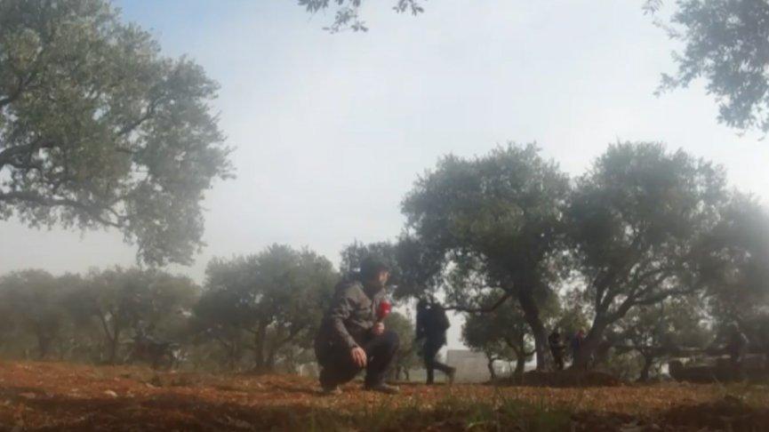 İdlib'in köylerinde şiddetli çatışmalar yaşanıyor!