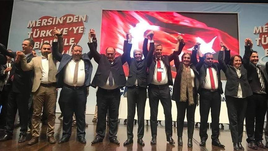 Mersin CHP İl Başkanı yeniden Adil Aktay oldu!
