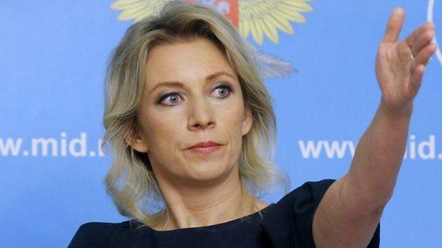 Zaharova sitem etti: Herkes kendi çıkarlarını düşünüyor