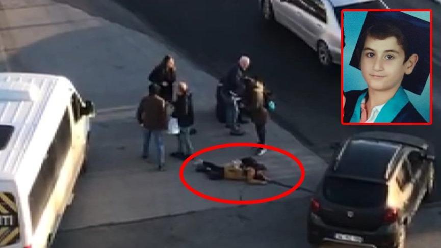 İstanbul'da feci kaza! Servis minibüsünün altında kaldı
