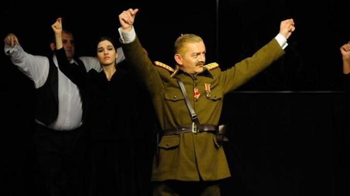 'Mustafa Kemal', yarın Ankara'da sahnelenecek