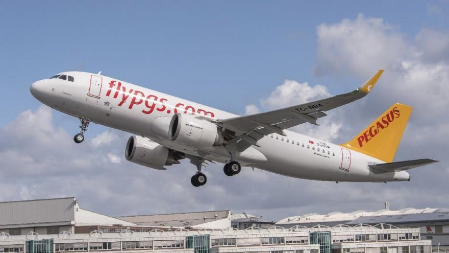 Pegasus'un yolcu sayısı ocakta yüzde 9,4 arttı