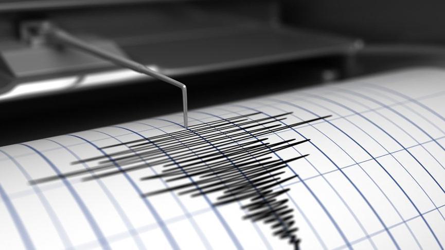 Van'da iki dakika arayla deprem meydana geldi!