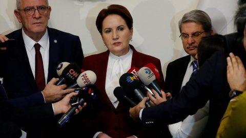 Akşener'den partideki istifalara ilişkin açıklama