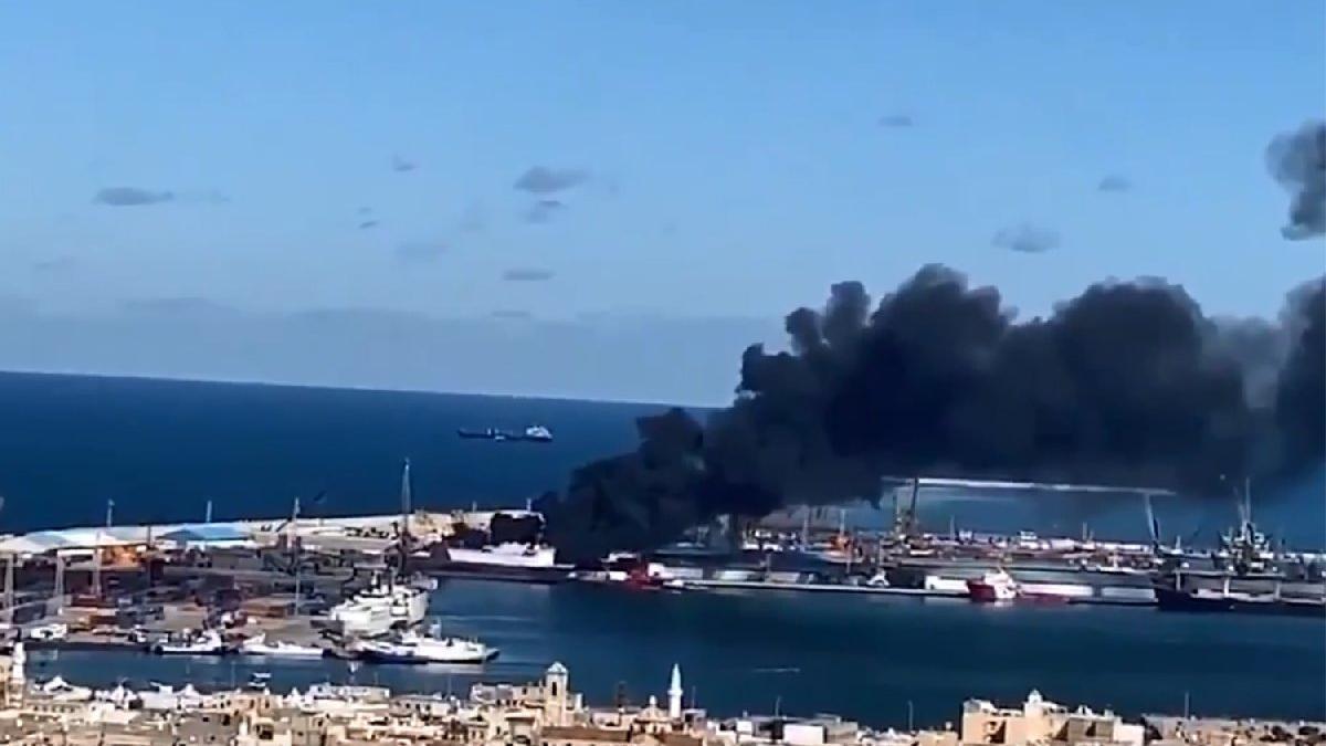 Hafter: Türk gemisini vurduk