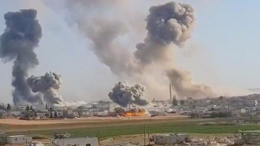 ABD, İngiltere ve Almanya'dan Suriye'ye 'saldırılara son verin' çağrısı!