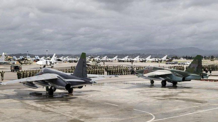 Suriye'de Rusya'nın kullandığı Hmeymim Hava Üssü'ne saldırı girişimi!