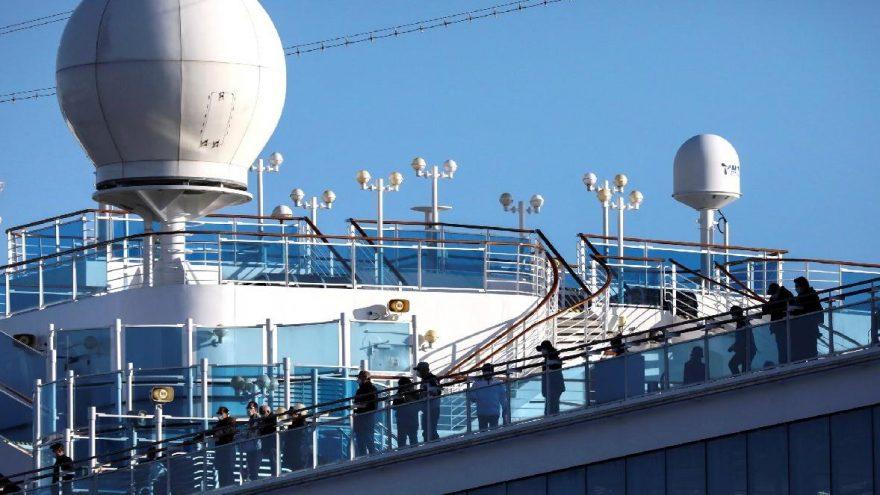 Corona virüsü: Ölü sayısı artarken, o gemideki iki kişi hayatını kaybetti