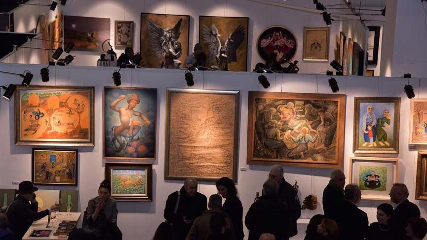 Türkiye'nin ilk Sanat ve Antika Fuarı kapılarını açtı