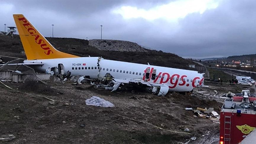 Bakanlıktan uçak kazası açıklaması