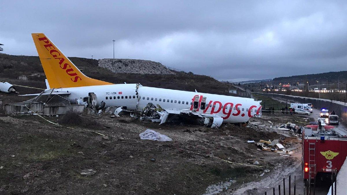 İnerken parçalanan Pegasus uçağıyla ilgili yeni iddialar