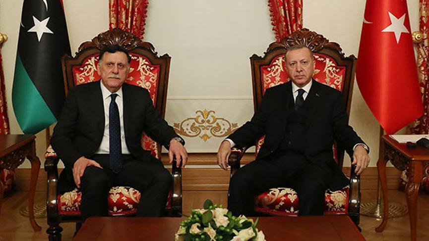 Cumhurbaşkanı Erdoğan, Sarrac ile görüştü