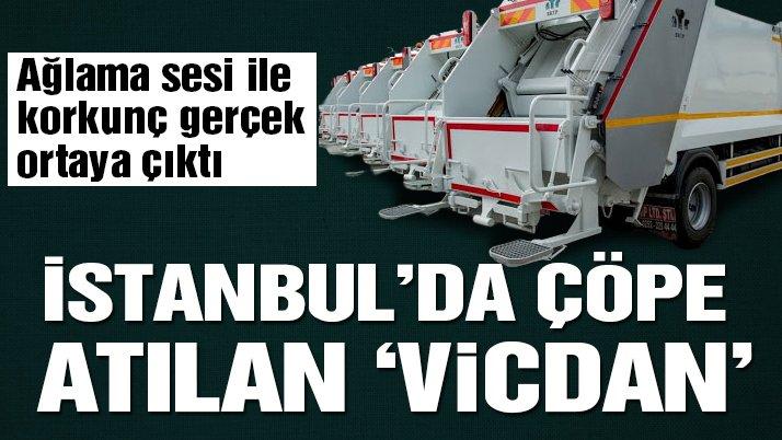 İstanbul'da çöpe atılan 'vicdan'! Ağlama sesi ile korkunç gerçek ortaya çıktı