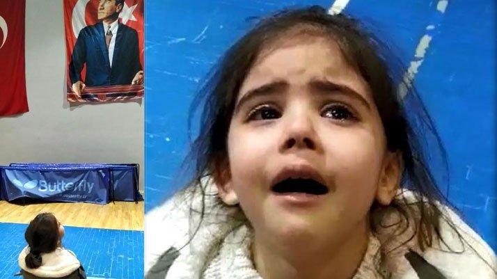 Minik Meryem, 'Atatürk, ne olur gel buraya gel' diye ağladı