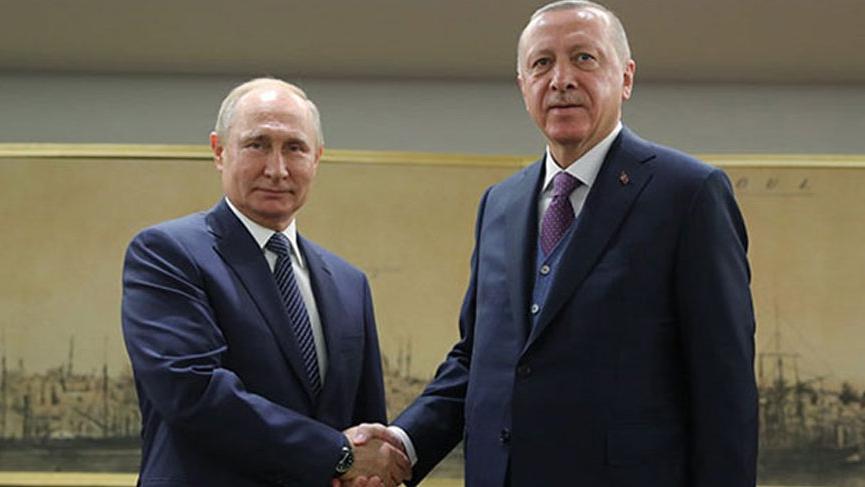 Erdoğan, Putin ile İdlib'i görüştü!