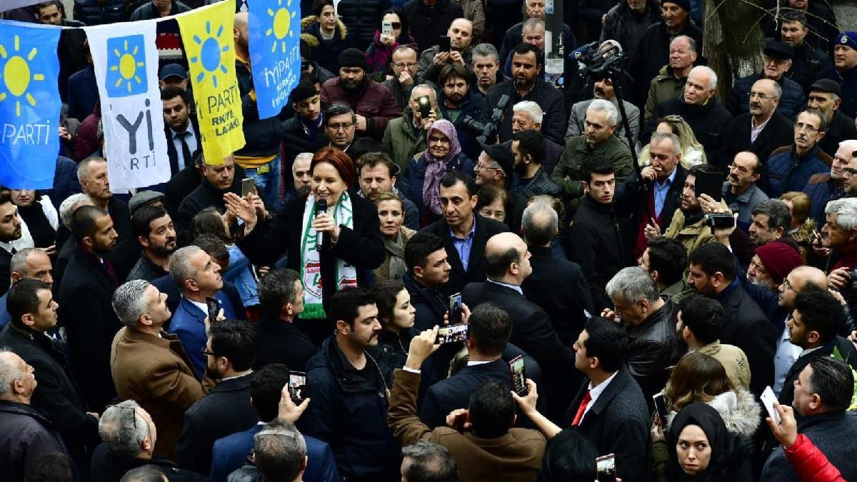 Akşener'den Erdoğan'a kutuplaştırma eleştirisi