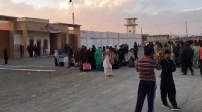 Sınır kapısı kapatıldı, yüzlerce kişi mahsur kaldı
