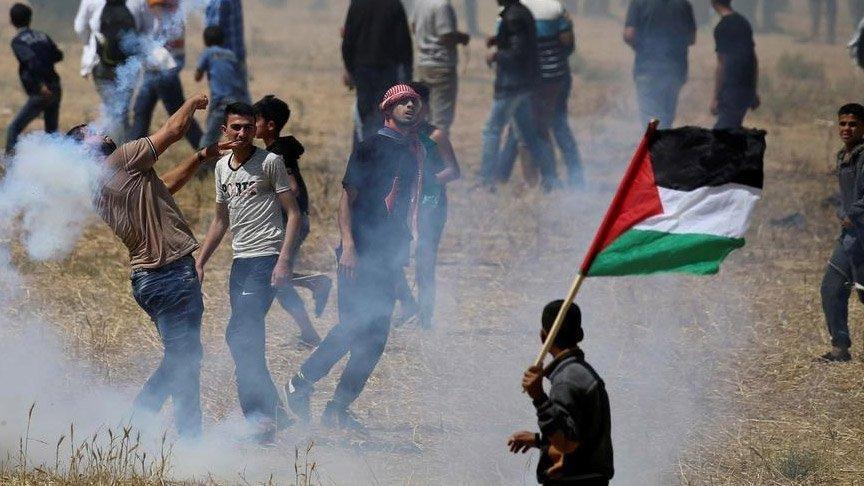 Filistinli direnişçiler, İsrail'e 20 roket attı!